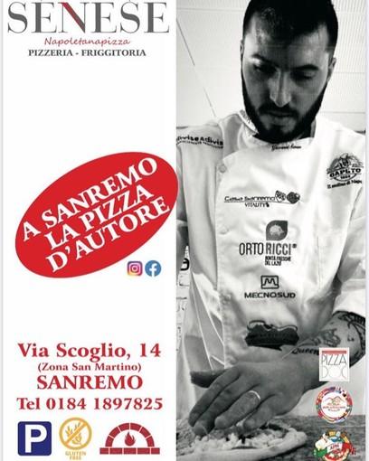 Sanremo: buone notizie per gli amanti della pizza napoletana d'autore, il pizzaiolo Giovanni Senese apre un nuovo locale in via Scoglio 14