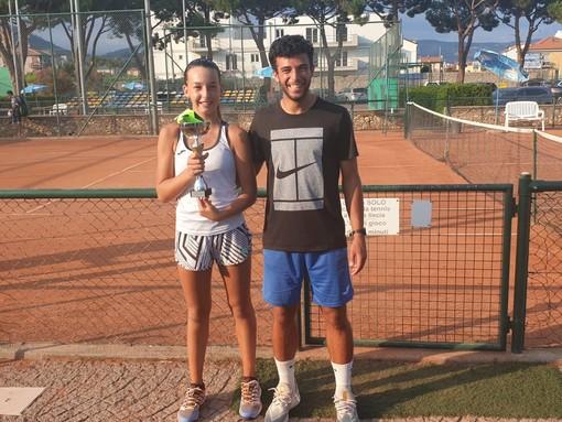 Tennis. Taggese, grande risultato per la promettente Sofia Coati: vince il torneo Next Gen under 14 a Loano