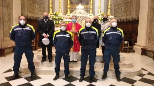 Diano Marina: per la ricorrenza di San Sebastiano, Messa in ricordo degli agenti defunti