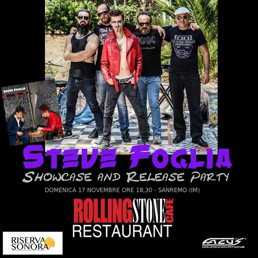 Sanremo: oggi pomeriggio, presentazione in anteprima il nuovo album del musicista sanremese Steve Foglia