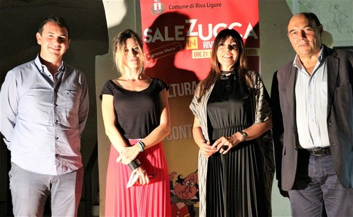 Riva Ligure: grande successo per Laura Calosso e Giorgia Wurth ospiti della rassegna Sale in Zucca (Foto)