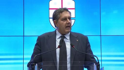 """Coronavirus, Toti: """"Dialogo proficuo tra enti locali e Governo. Apprezzato il metodo Liguria'"""