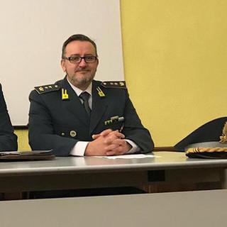 Il Tenente Colonnello della Guardia di Finanza Michele Pagnotta