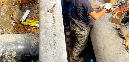 """Partiti i lavori per l'allaccio dell'acquedotto, Scajola: """"In caso di rotture non mancherà l'acqua né a Imperia né a Diano"""""""