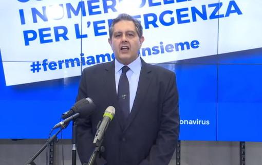 """Coronavirus, i dati della Regione nella gestione dell'emergenza. Toti: """"La sanità ligure è una delle migliori d'Italia"""""""