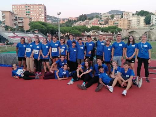 Si è chiusa a Genova la stagione agonistica giovanile di atletica leggera in provincia di Imperia