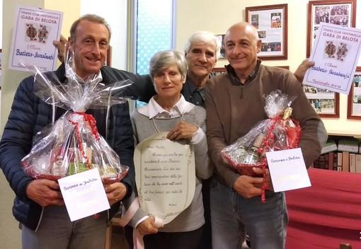 Ventimiglia: grande partecipazione alla gara di belota per beneficenza in ricordo di Franco Pirazzoli