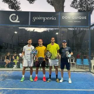Padel: torneo Don Quique Fit Open Go Imperia, vittoria per Calneggia-Calado sugli azzurri Cremona-Cassetta