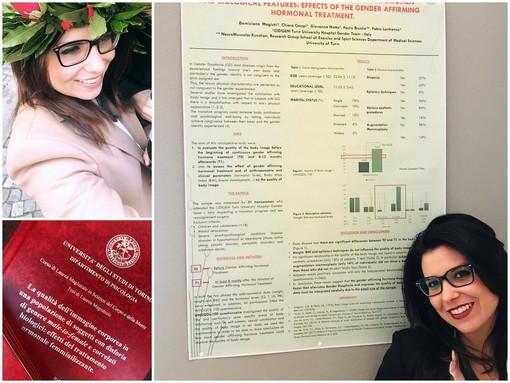 Sanremo: si laurea con una tesi sulla disforia di genere, Domiziana Magistri a Roma per la conferenza internazionale EPATH