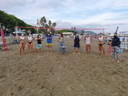 Beach Volley: la coppia Cimino–Sacco vince la tappa circuito serie b Trofeo Olio Amoretti e Garzano Città di Diano Marina