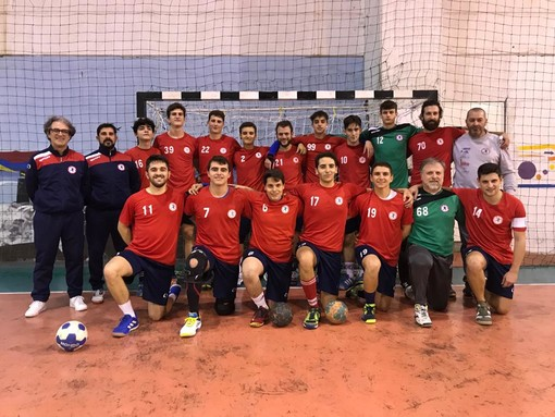 Pallamano: nel campionato di serie b maschile, bella vittoria per il Team Schiavetti San Camillo Imperia