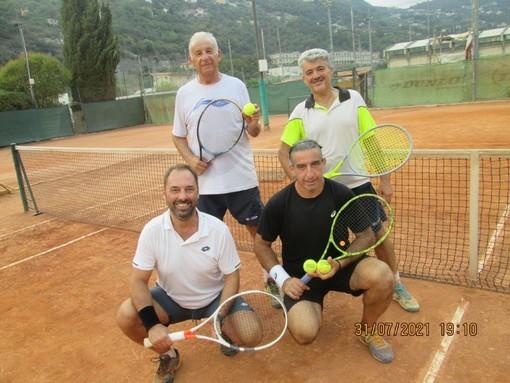 Tennis: Viale e Zucchi vincono il Torneo di doppio sociale 'a sorteggio' al TC Ventimiglia
