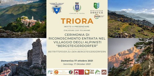 Domenica Triora sarà il primo paese della Liguria a entrare tra i Villaggi degli Alpinisti