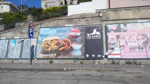 "Imperia: in arrivo una steak house? In città spuntano i cartelli pubblicitari del ristorante ""The Ranch"""