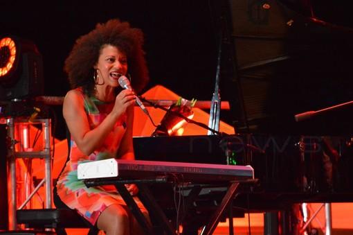 UnoJazz Sanremo 2018: Janysett McPherson e l'Orchestre National de jazz incantano il pubblico di Pian di Nave (Foto e Video)