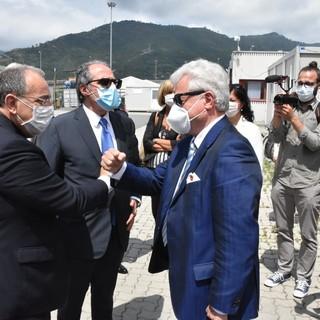 """Ventimiglia: visita Ministero dell'Interno al Campo Roja, il prefetto Di Bari """"Vogliamo dare ogni contributo per alleviare il disagio"""""""