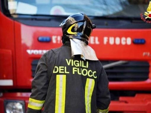 Imperia, fuga di gas in via Pagliari: intervento dei vigili del fuoco