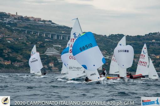 Vela: ultimo giorno dei Campionati Italiani Giovanili 420 a Marina degli Aregai