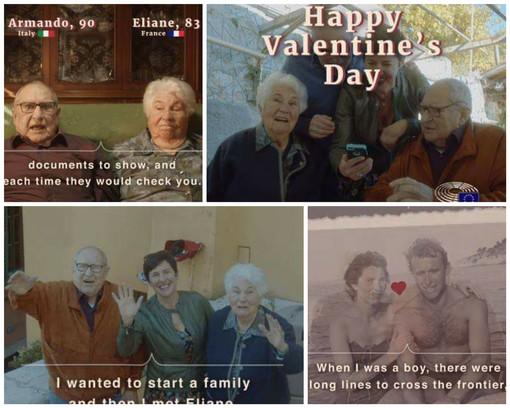 Armando, di Ventimiglia e Eliane, di Mentone, l'unione tra Italia e Francia attraverso l'amore tra i due anziani, il video supera le 14 milioni di visualizzazioni