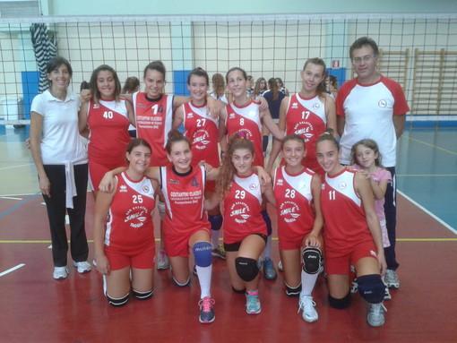 Pallavolo: debutto stagionale per la under 14 femminile del Volley Team Arma Taggia