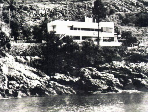 La villa-battello di Eileen Gray, 1929
