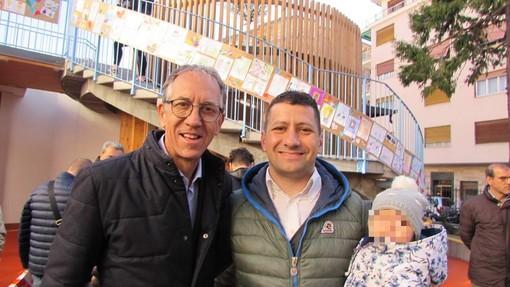 Elezioni comunali a Sanremo: i ringraziamenti a Biancheri e Di Malta per i lavori di riqualificazione in via Scoglio