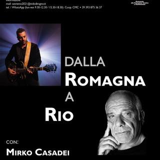 Mirko Casadei e Armando Corsi a Villa Ormond di Sanremo
