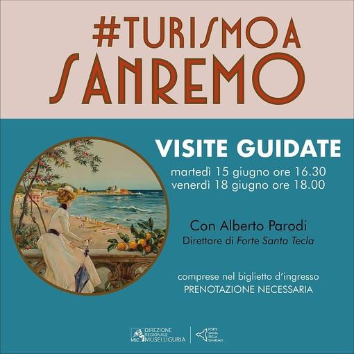 Sanremo:  alla mostra #turismoaSanremo, due visite guidate con il Direttore del Forte Santa Tecla