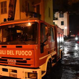 Taggia, fuga di gas in un'abitazione di via San Dalmazzo: nessun ferito o intossicato