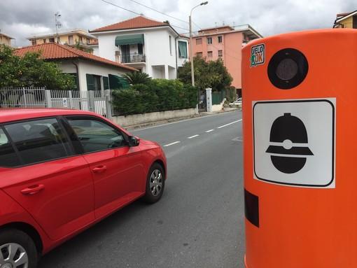 Taggia: sicurezza e lotta all'alta velocità, l'amministrazione valuta l'installazione di nuovi VeloOk
