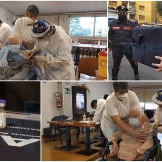 Diano Marina, arrivate alla Rsa 'Ardoino Morelli' 170 dosi del vaccino anti-covid: al via la somministrazione per ospiti e personale in servizio (Foto e video)