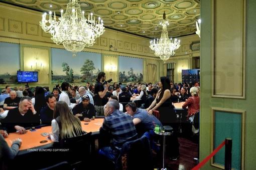 Un torneo di poker al Casinò negli anni scorsi
